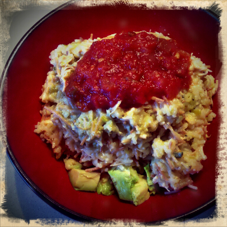 Chicken-roni with Avocado